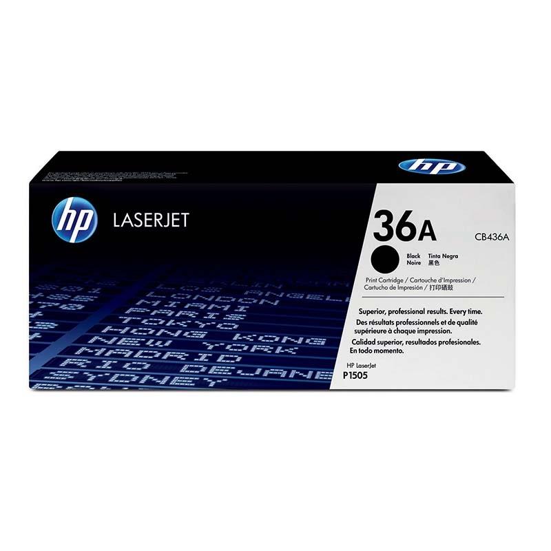 Картридж HP CB436A № 36A черный
