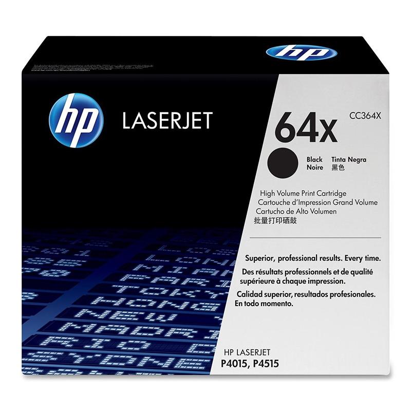 Картридж HP CC364X № 64X черный
