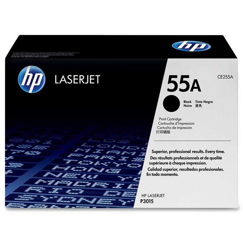 Картридж HP CE255A № 55A черный