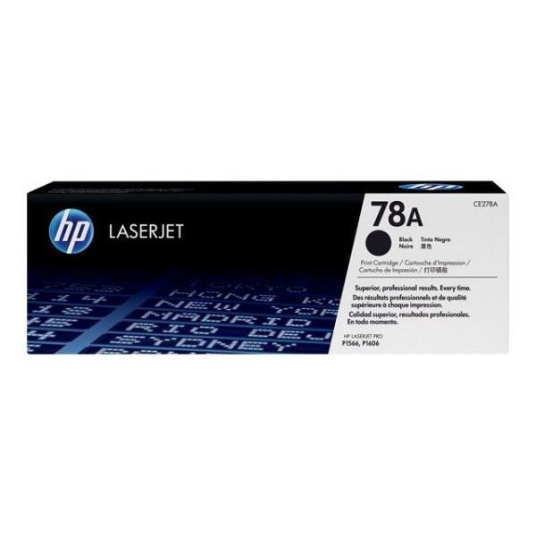 Картридж HP CE278A № 78A черный