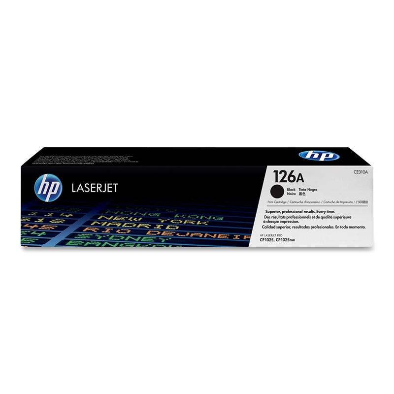 Картридж HP CE310A № 126A черный