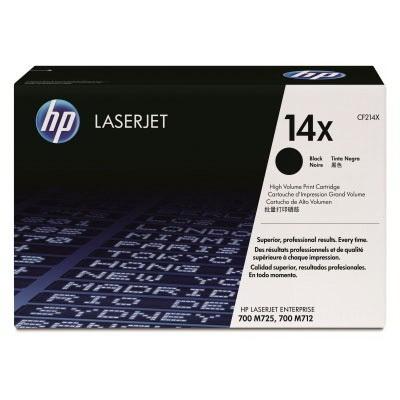 Картридж HP CF214X № 14X черный