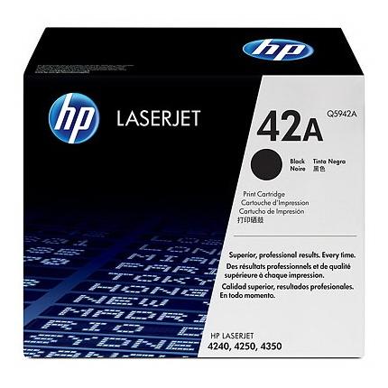 Картридж HP Q5942A № 42A черный